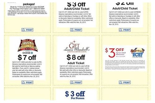 gaylord ice nashville coupon codes