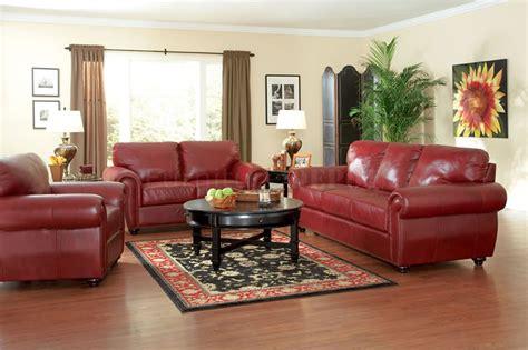 Burgundy Leather Sofa Ideas Design 33 Traditional Living Room Design
