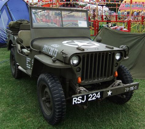 Jeep Us Us Wwii Jeep 3 By Fuguestock On Deviantart