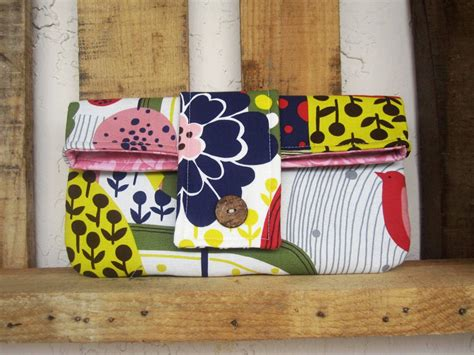 Handmade Ideas To Sell - floral clutch bags and hair accessories handmade jewlery