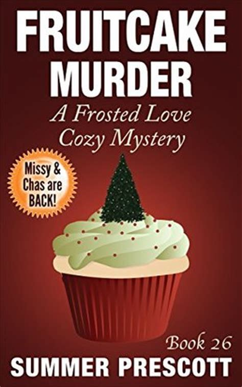 murder at an wedding an mystery books fruitcake murder a frosted cozy mystery book 26 by