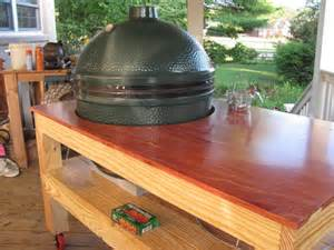 Primo Grill Table Plans Woodwork Big Green Egg Table Plans Ideas Pdf Plans