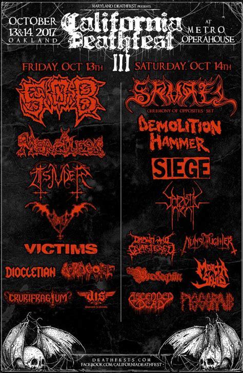 festivals usa metal festivals in usa