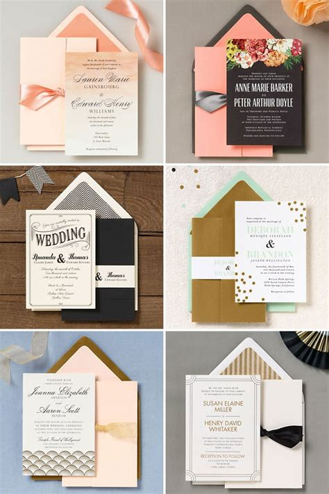 Paper Source Paper Wedding by Paper Source 2014 Wedding Invitation Collection