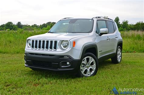 jeep renegade 2016 2016 jeep renegade limited 4 215 4 review test drive