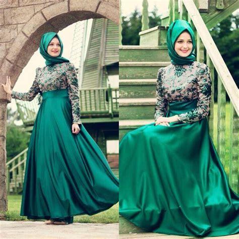 Baju Muslim Elegan Untuk Sehari Hari baju dress muslimah elegan trend model baju terbaru 2016