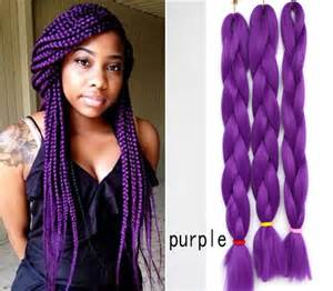 purple ombre marley hair janet collection synthetic braids kanekalon hair jumbo