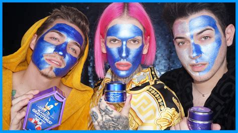 Glamglow Gravity Mud blue glamglow gravity mud demo review feat mannymua