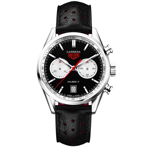 Tag Heuer Silver Wb tag heuer 41mm black silver s leather