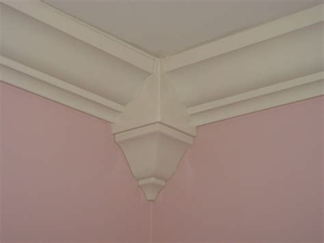 Corner Block Moulding Install Makes For Easy Touch Up And Finishing After The