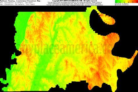 south louisiana elevation map free parish louisiana topo maps elevations