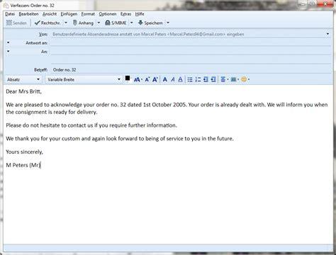 E Mail Bewerbung Muster Englisch Englisch Brief Schreiben Aufbau
