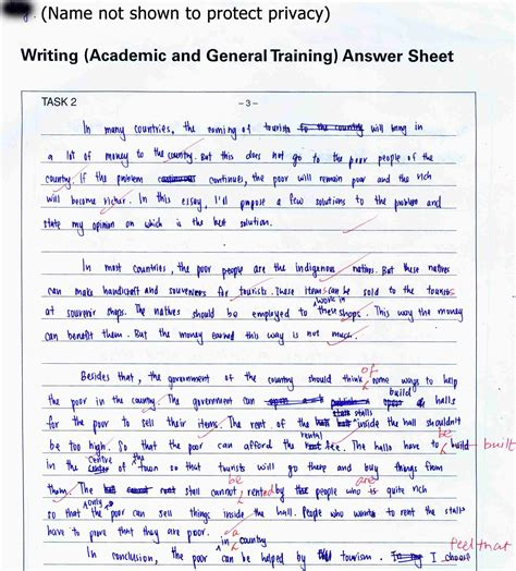 Formal Letter Sle For Ielts General Ielts Letter Writing Sle The Best Letter Sle