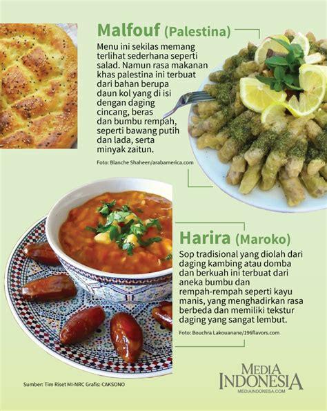 menu khas ramadan  berbagai negara  dunia