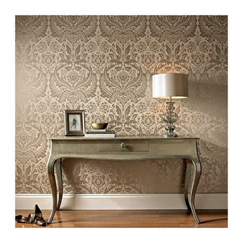 cream and gold wallpaper next desire taupe cream damask wallpaper desire gold damask