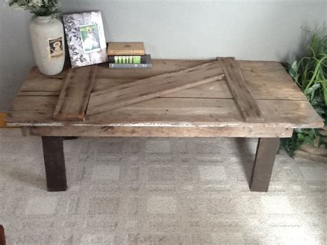 Barn Door Tables Barn Door Coffee Table