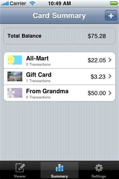 Can You Track Gift Cards - three iphone apps to keep track of gift cards cnet