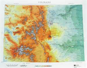 colorado map elevation zachi colorado elevation map