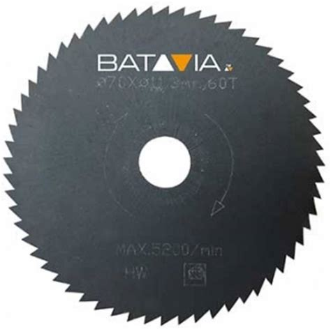 Batavia Racer Hss Saw Blades 2 Pieces 70 Mm X 1 4 Mm