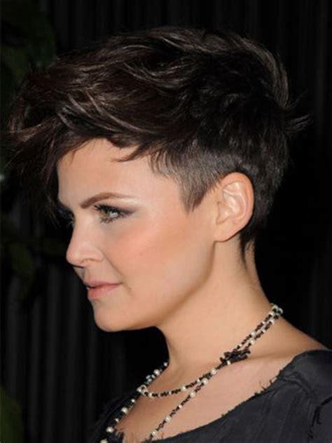 her shortest haircut ever i love her hair ginnifer goodwin hair pinterest