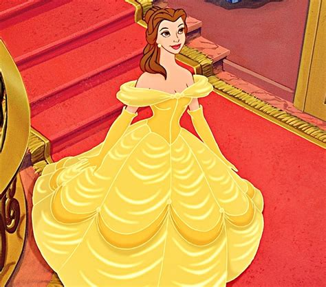 Yellow Dress clipart beauty and the beast belle   Pencil and in color yellow dress clipart