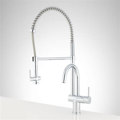rachel pull down kitchen faucet with spring spout kitchen signature hardware joplin kitchen faucet with pull down