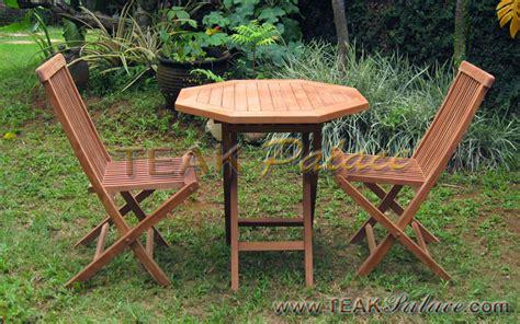 Meja Kursi Lipat Kayu kursi lipat 2 dan meja makan taman kayu jati harga murah murah