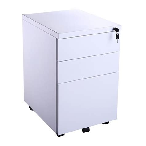 white pedestal desk with drawers 3 slim white mobile oi desk pedestal range cbs