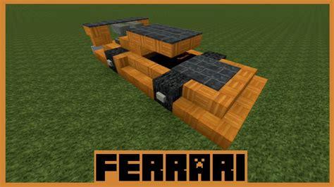 minecraft ferrari minecraft tutorial ferrari bauen deutsch youtube