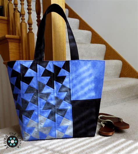 twister tote bag pattern do you twist around the bobbin
