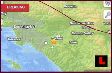 earthquake orange county california earthquake today 2013 strikes orange county