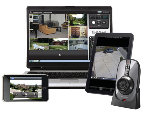 indoor security system logitech introduces indoor security with