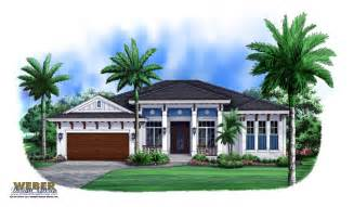 West indies house plan carmona house plan weber design group