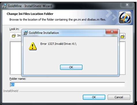 error 1327 invalid drive while installing or updating could not find the mapped drive on the server techyv com