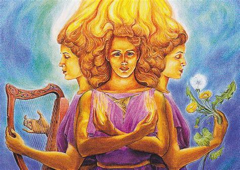 Goddess Of celtic goddess brigid and the story of the enduring deity