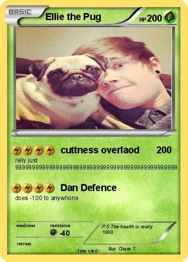 ellie the pug pok 233 mon ellie the pug 1 1 cuttness overlaod my card
