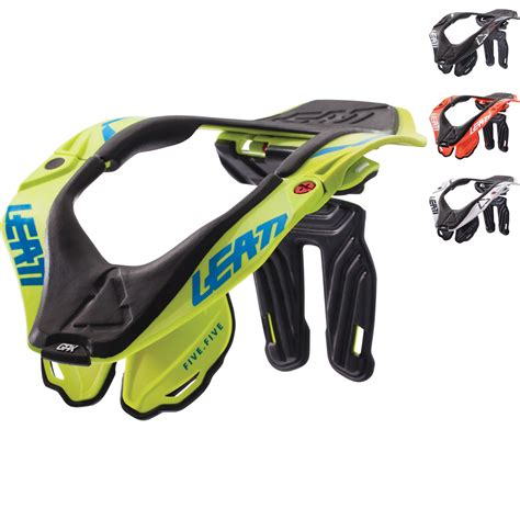 leatt gpx 5 5 neck brace neck braces ghostbikes