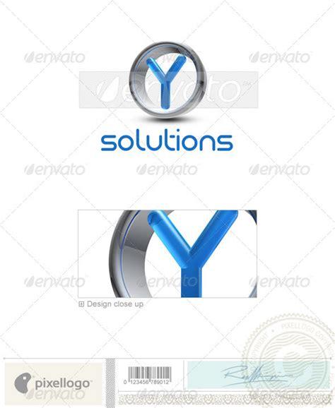 Y Logo - 3D-288-Y | GraphicRiver Y Logo 3d