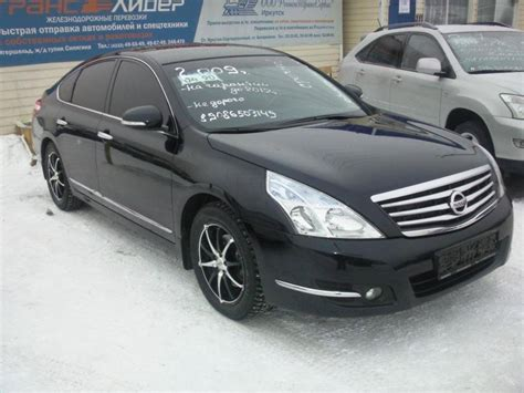 nissan teana 2009 black 2009 nissan teana photos 2 5 gasoline ff automatic for