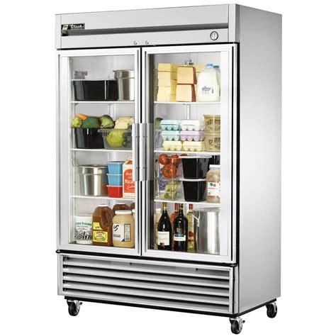 Glass Door Reach In Refrigerator True T 49g 55 Quot Glass Door Reach In Refrigerator
