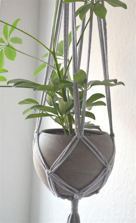 Macrame Plant Hangers Diy - diy macrame blumenel4 pinteres