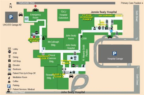 ut hospital emergency room utmb health