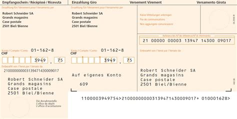 swiss orange isr payment slip sap blogs