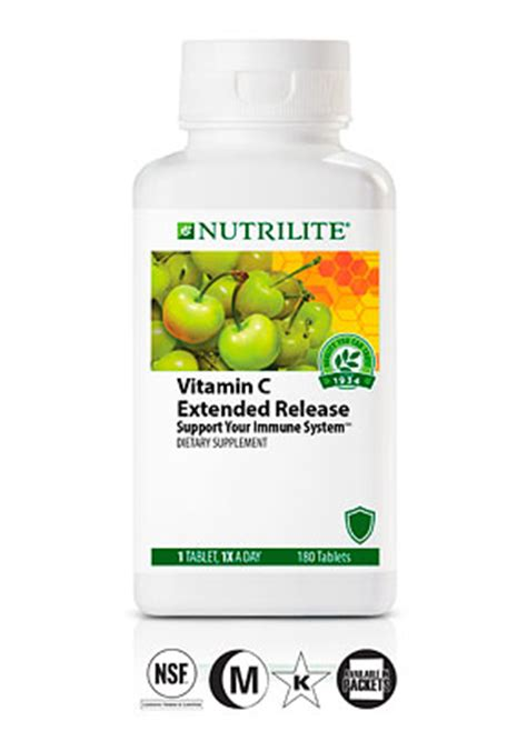 Vitamin X Amway Nutrilite 174 Vitamin C Extended Release