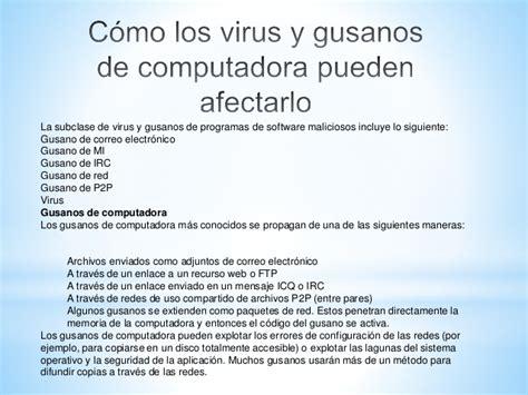 como limpiar mi computadora de virus y malware tipos de virus en las computadoras