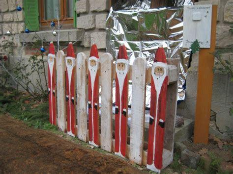 Weihnachtsdeko Mit Paletten by Bonne Annee Recyclage Et Cie