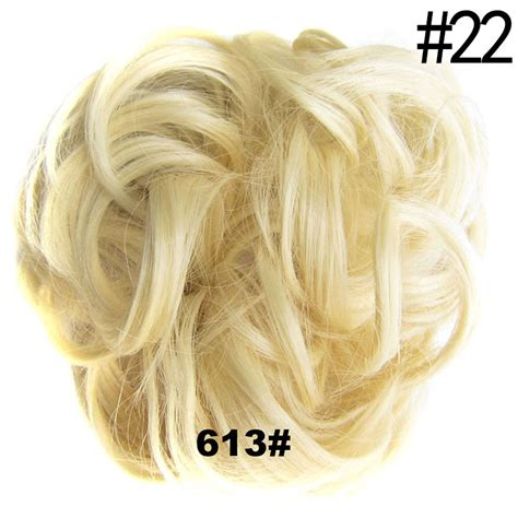 how do you put a pony scrunchie on hair new women pony tail girls clip in on hair bun hairpiece