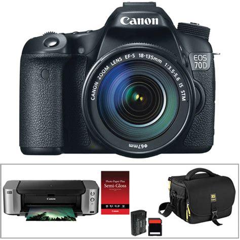 Canon Eos 70d Kit 18 135mm canon eos 70d dslr kit with 18 135mm stm lens b h