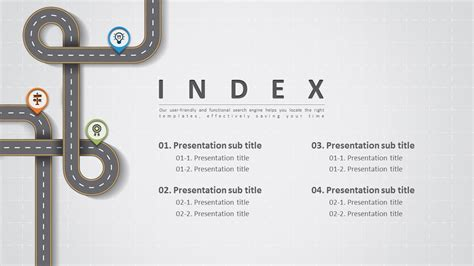 powerpoint index template powerpoint index template 28 images the set consists