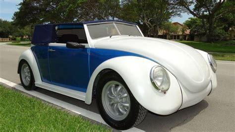 volkswagen beetle custom choppedlowered removable soft top  reserve set
